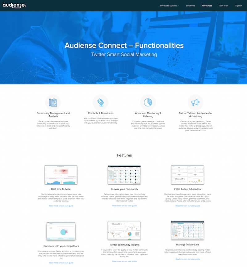 Audiense-Connect