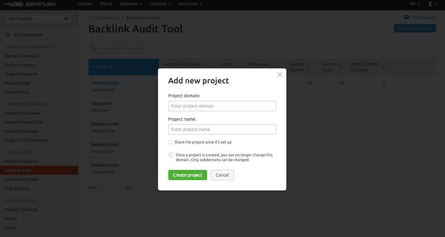 Backlink-Audit-Tool