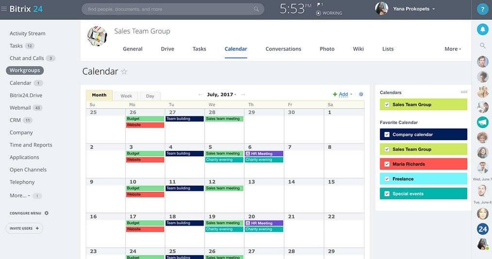 Calendar-Sharing