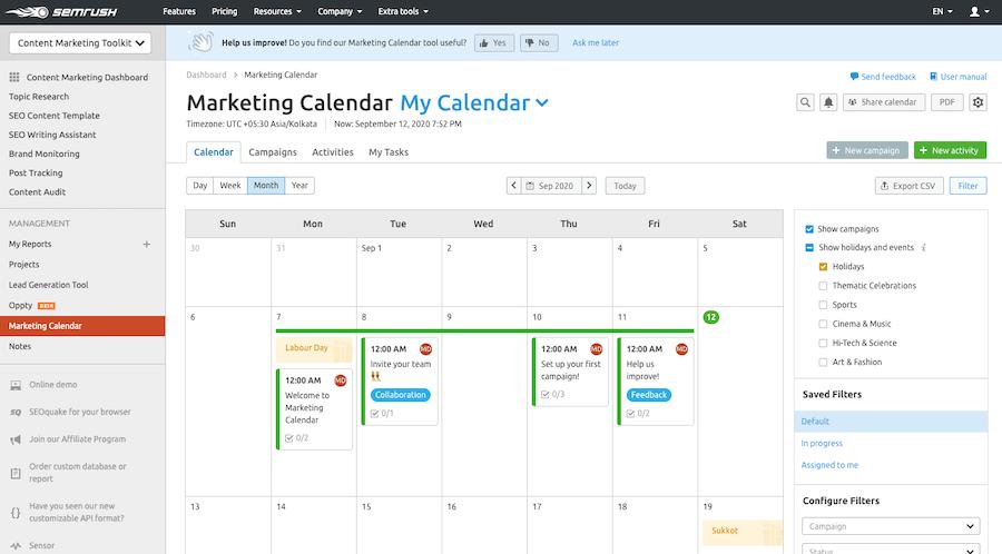 Marketing-Calendar
