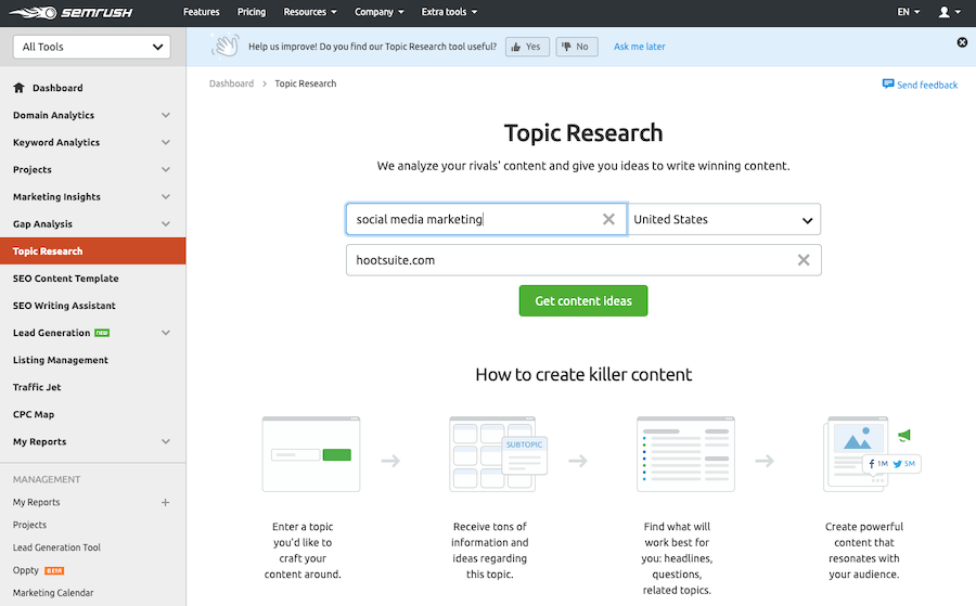 Topic-Research-tool