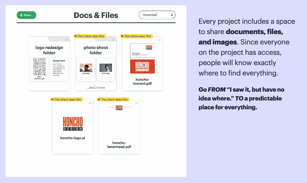 Basecamp File Sharing