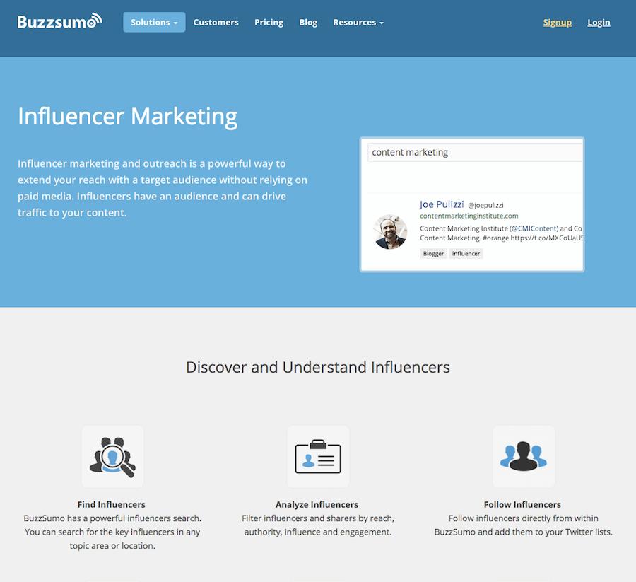 Buzzsumo-Influencer-Marketing