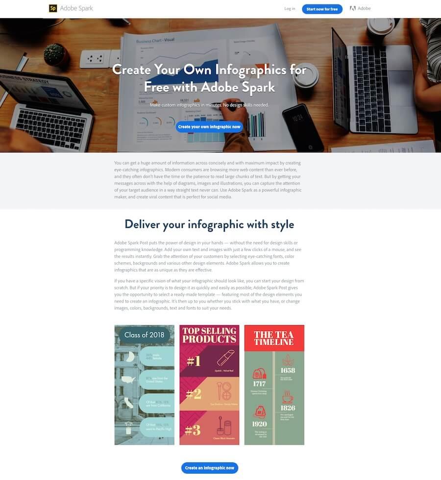 Infographic-Maker-Adobe-Spark