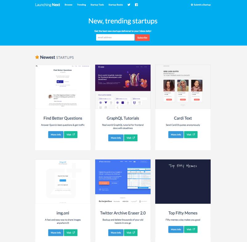 LaunchingNext