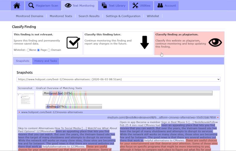 Plagiarism-Checker