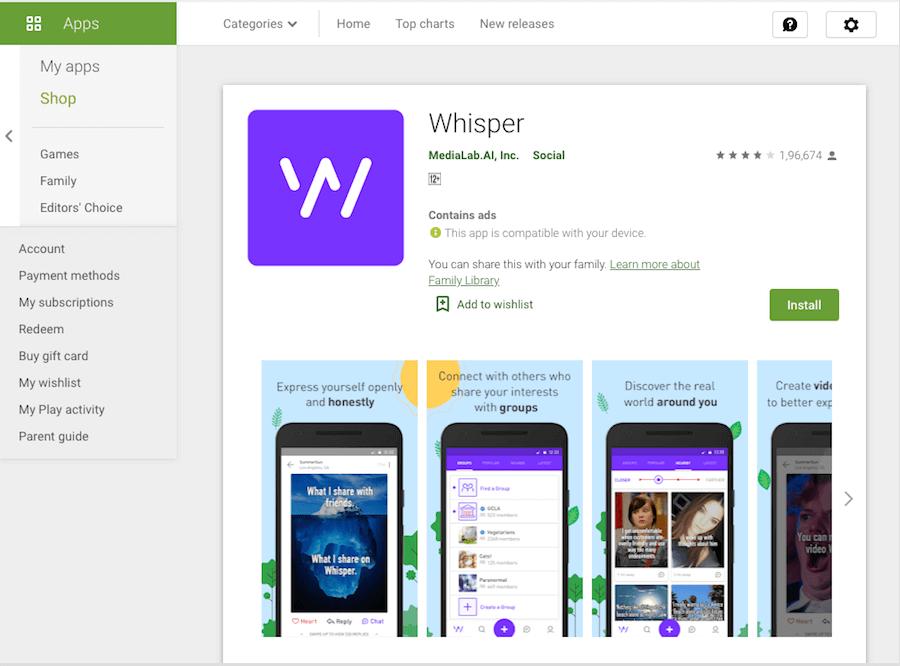 Whisper-Social-App