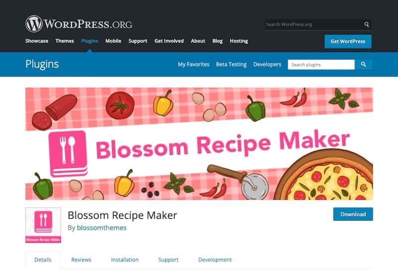 Blossom-Recipe-Maker