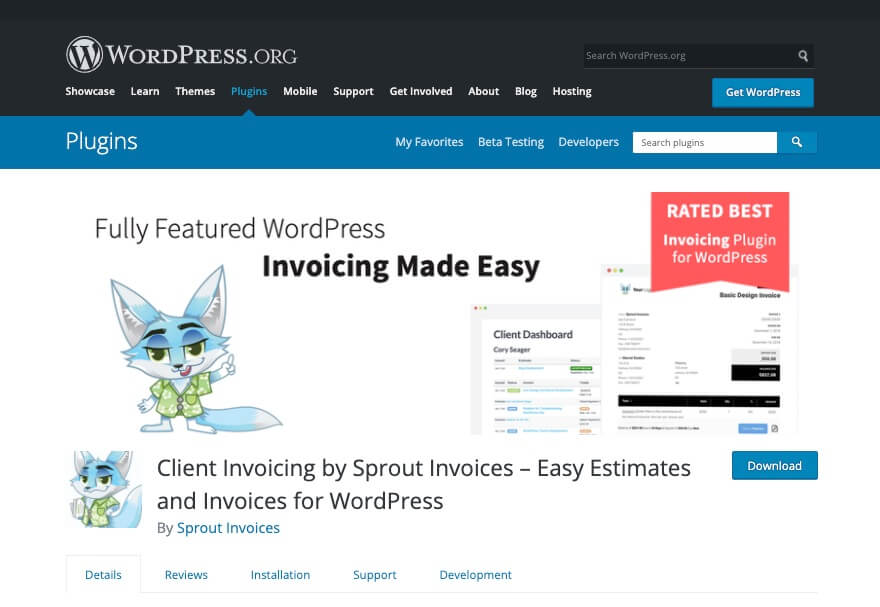 Client Invoicing by Sprout Invoices