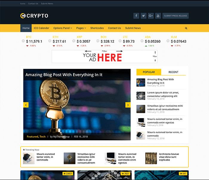 Crypto-theme-mythemeshop