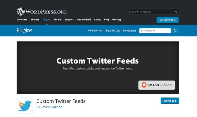 Custom-Twitter-Feeds-Plugin