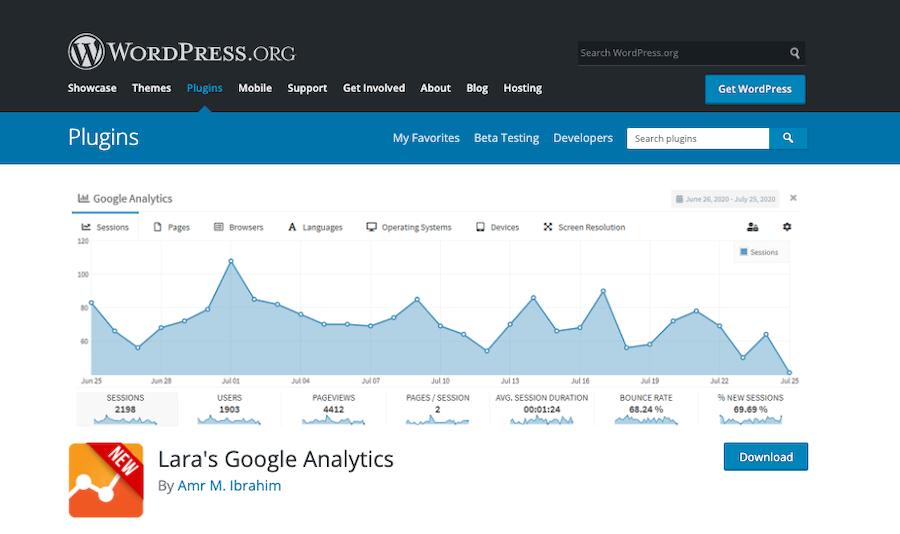 Laras-Google-Analytics