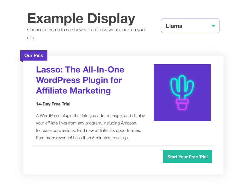 Lasso Affiliate Link Themes