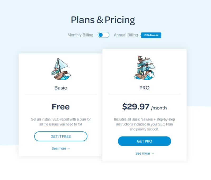 MarketGoo-pricing