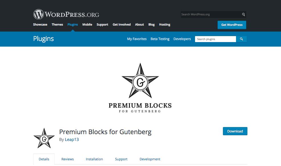 Premium-Blocks-for-Gutenberg