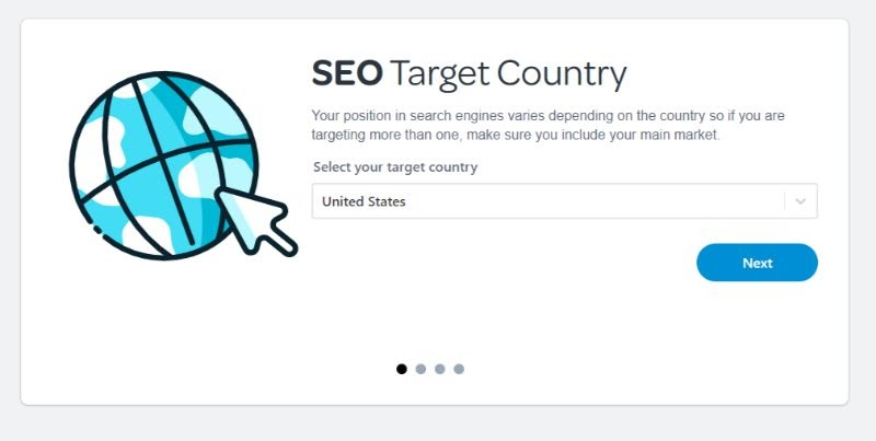 SEO Target Country