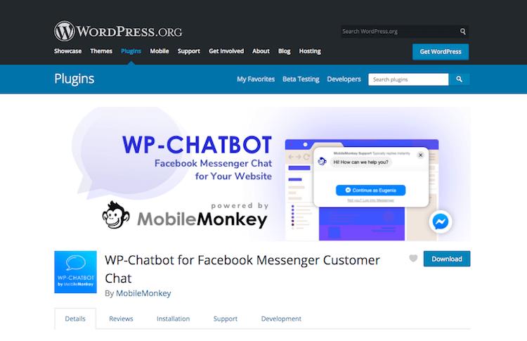 WP-Chatbot-for-Facebook-Messenger-Customer-Chat