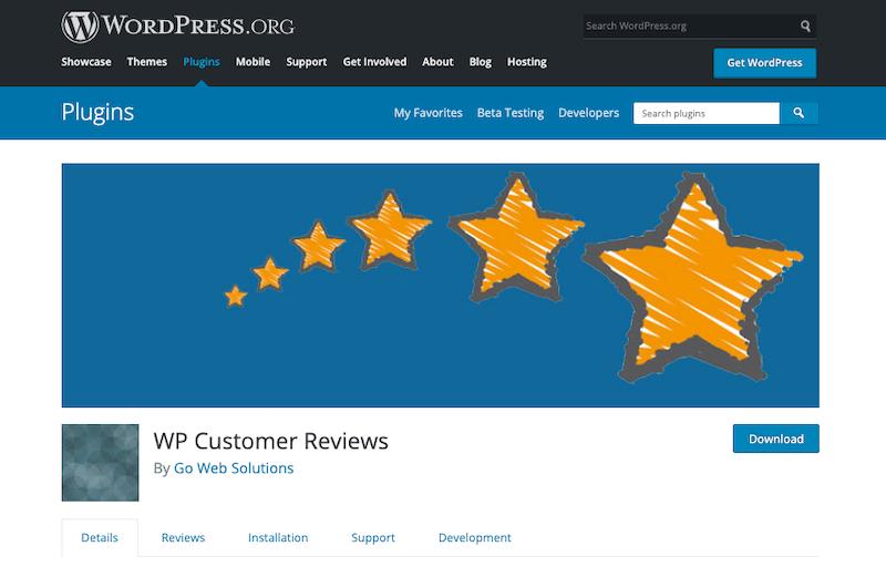 WP-Customer-Reviews