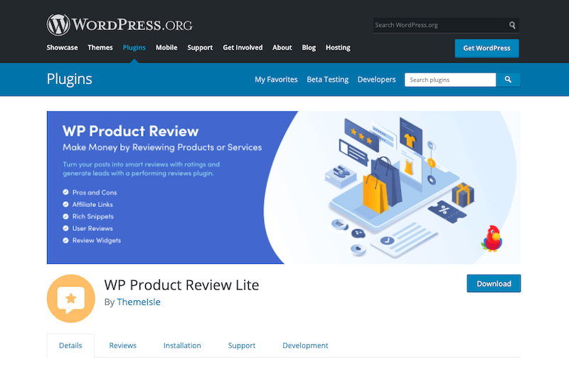 WP-Product-Review-Lite