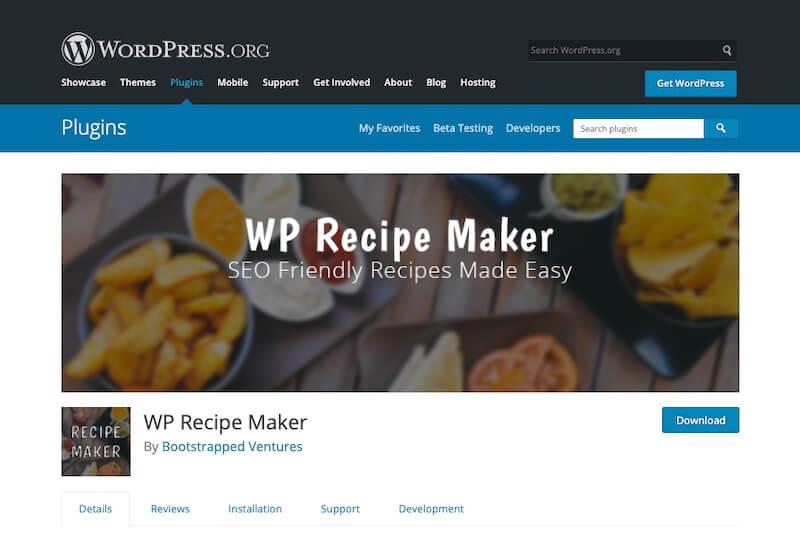 WP-Recipe-Maker