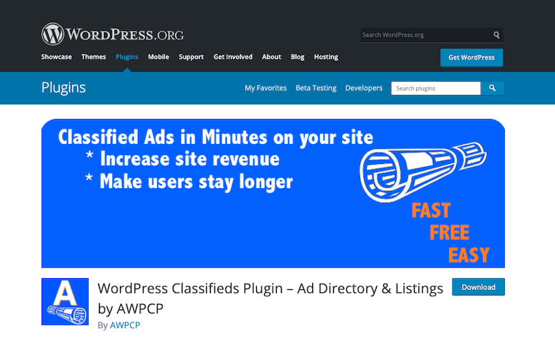 WordPress-Classifieds-Plugin