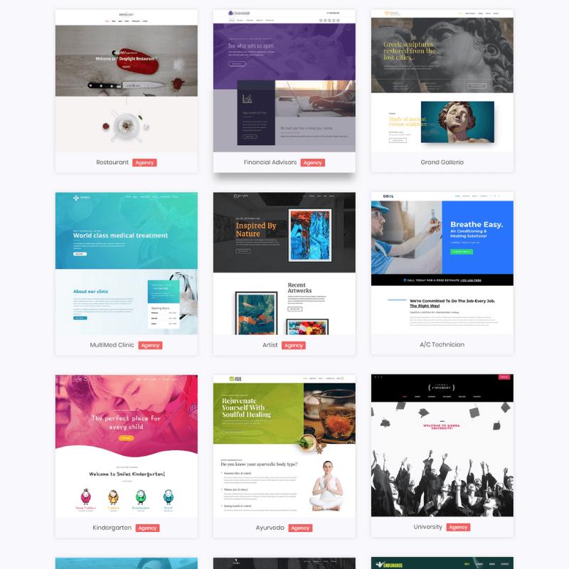 Demo-Websites