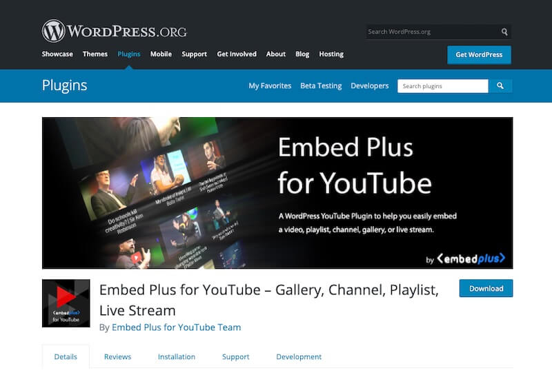 Embed-Plus-for-YouTube