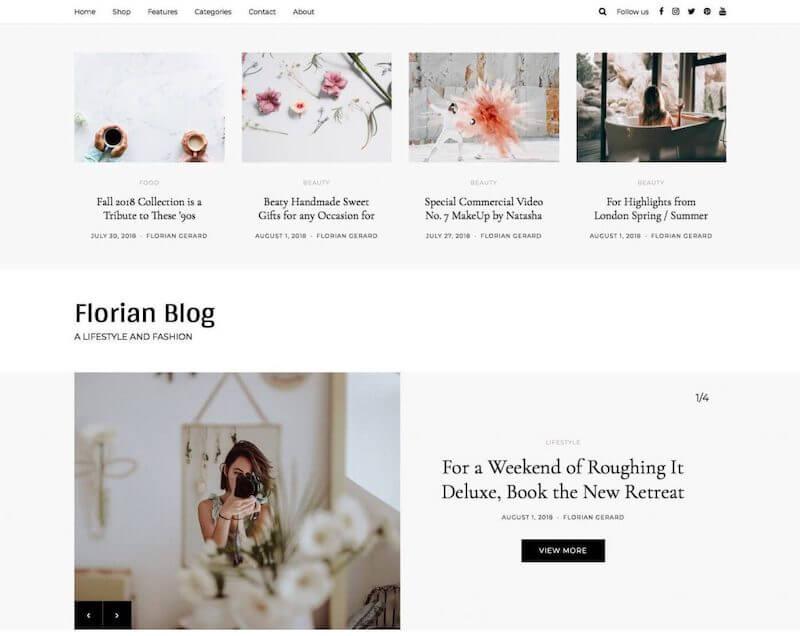 Florian-WordPress-Theme