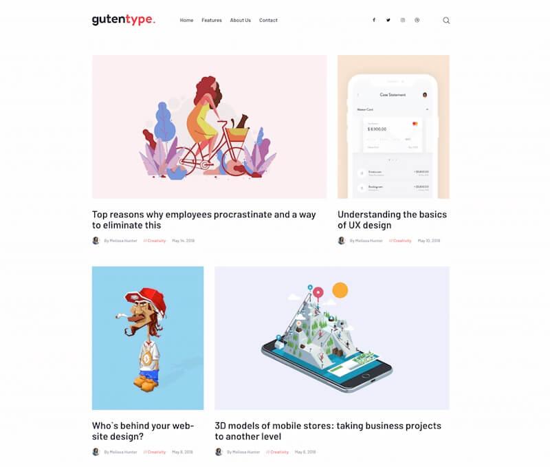Gutentype-WordPress-Theme