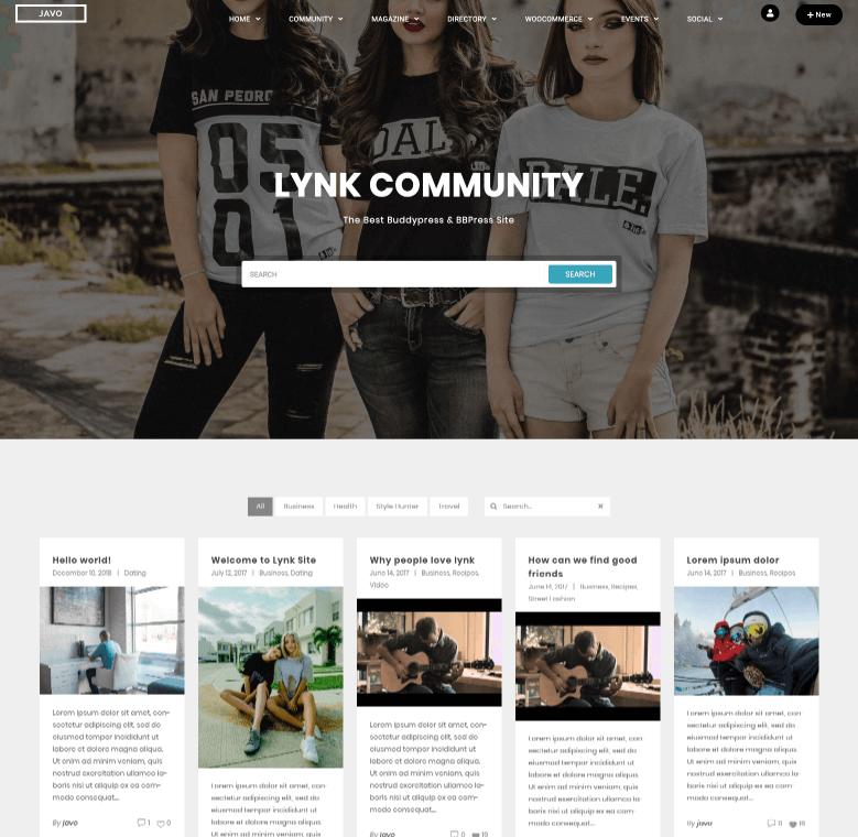 Lynk-Community-Theme