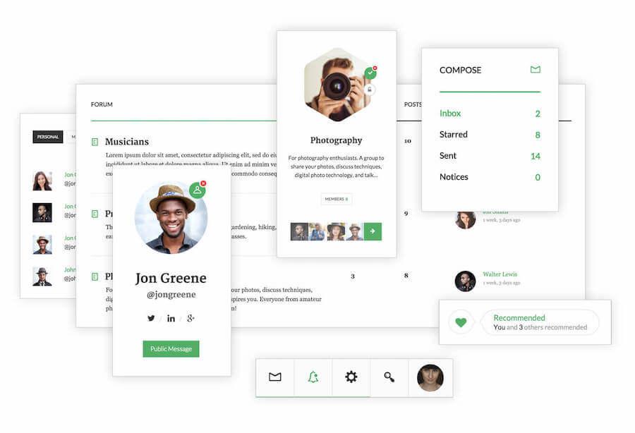 OneSocial-BuddyPress-Theme