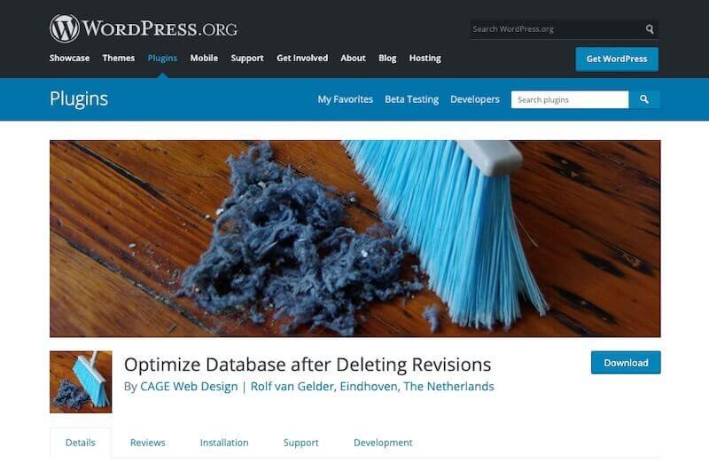 Optimize-Database-Plugin