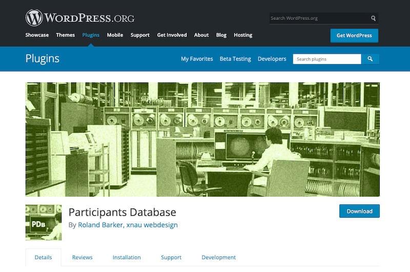 Participants-Database