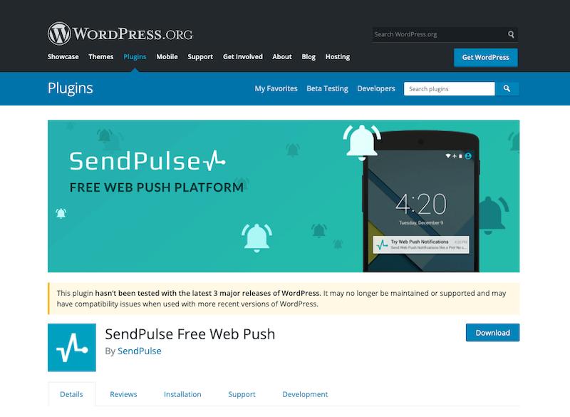 SendPulse-Free-Web-Push