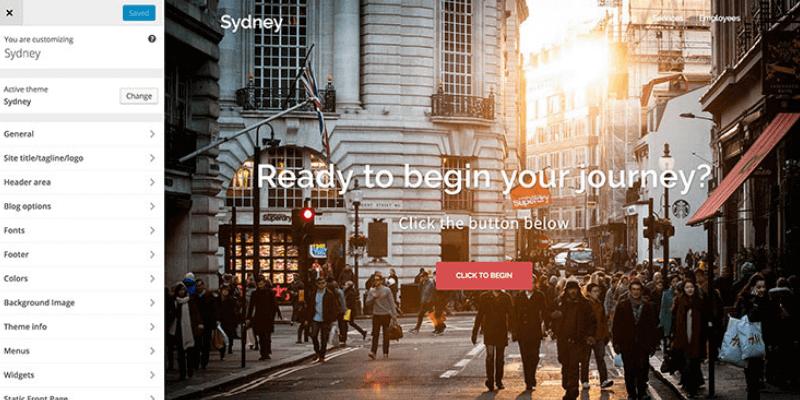 Sydney-theme-options