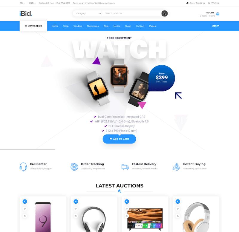 iBid-theme