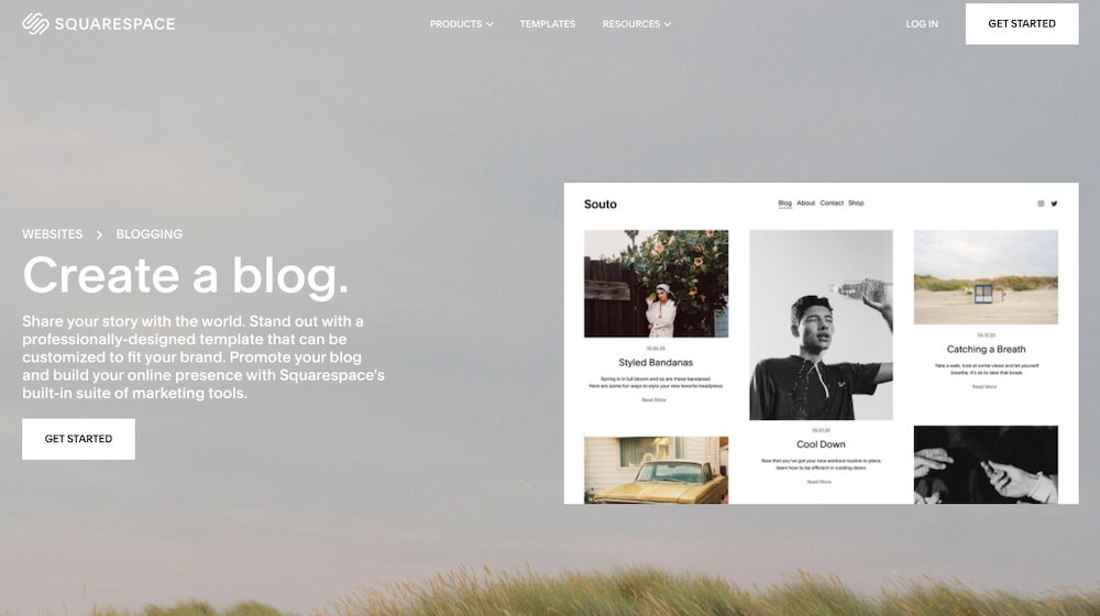 Squarespace For Blogging