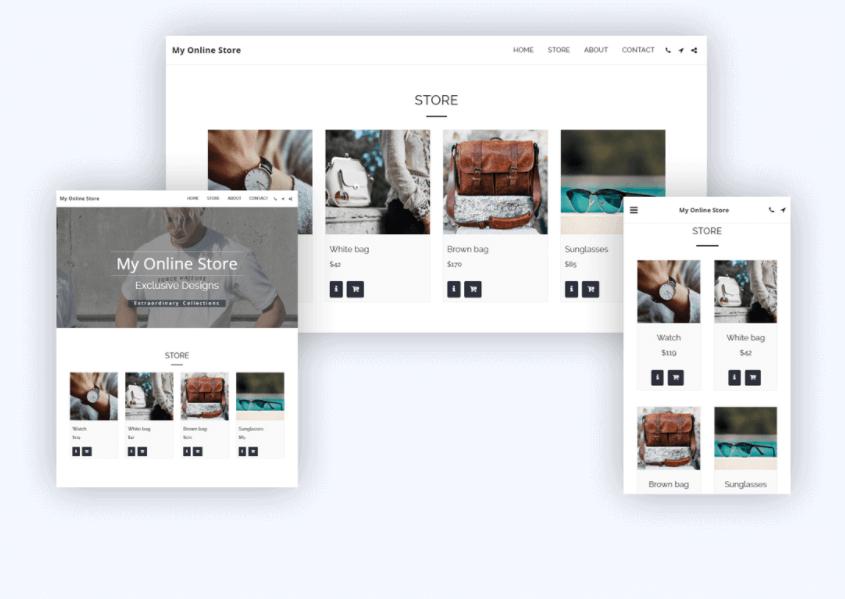 eCommerce Site123