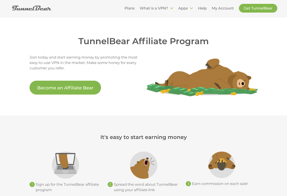TunnelBear Affiliate Program