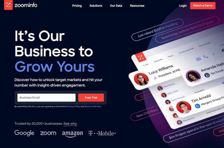 ZoomInfo Alternatives